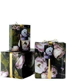 Boho&Co Floralism giftwrap - twopack with tags